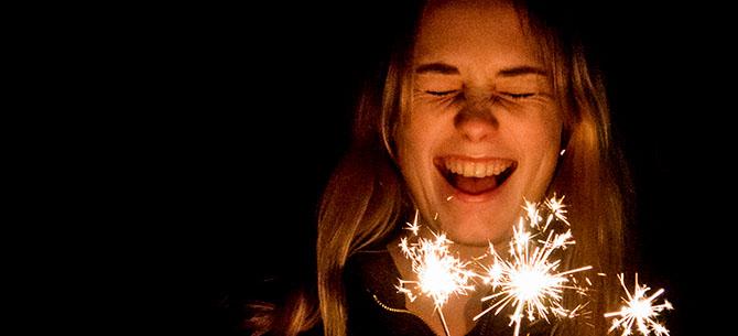 PROJECT 52: Week six – sparkler