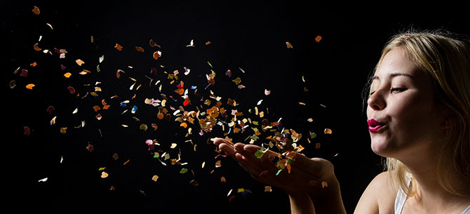 PROJECT 52: Week twentytwo – Confetti